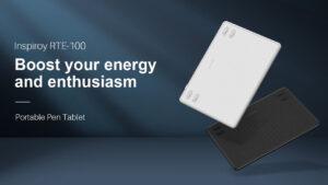huion launches rte-100 pen tablet